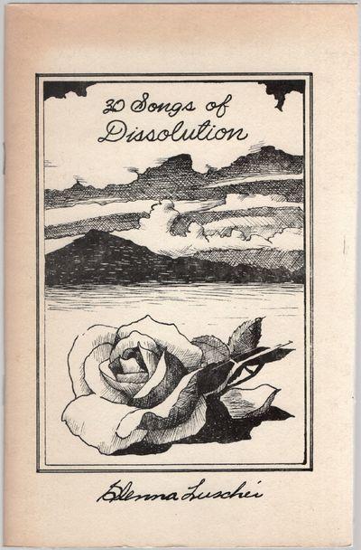 (Los Cerrillos, New Mexicto: San Marcos Press, 1977. Softcover. Near Fine. First edition. Illustrati...