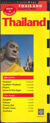 image of Thailand Travel Map, New_Updated (Periplus Travell Maps)