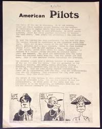 American Pilots [handbill]