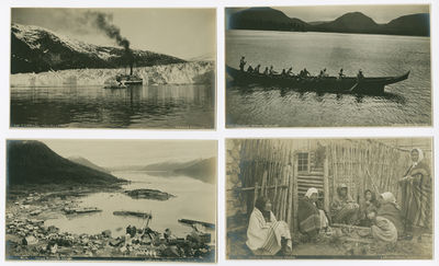 Seattle; Skagway, 1900. Twelve photographs, each approximately 4 1/4 x 7 1/2 inches. Overall very go...