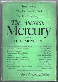 The American Mercury. June 1932, Volume XXVI, Number 102