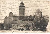 image of Burg von Osten, Nürnberg, Bavaria (Germany) on 1902 Postcard