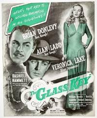 THE GLASS KEY (Original Pressbook Used to Promote the 1942 Alan Ladd-Veronica Lake Film Noir)
