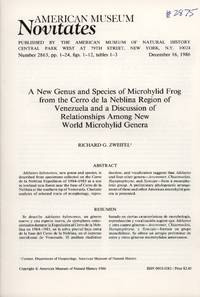 image of A New Genus and Species of Microhylid Frog from the Cerro De La Neblina Region of Venezuela and a Discussion of Relationships among New World Microhylid Genera