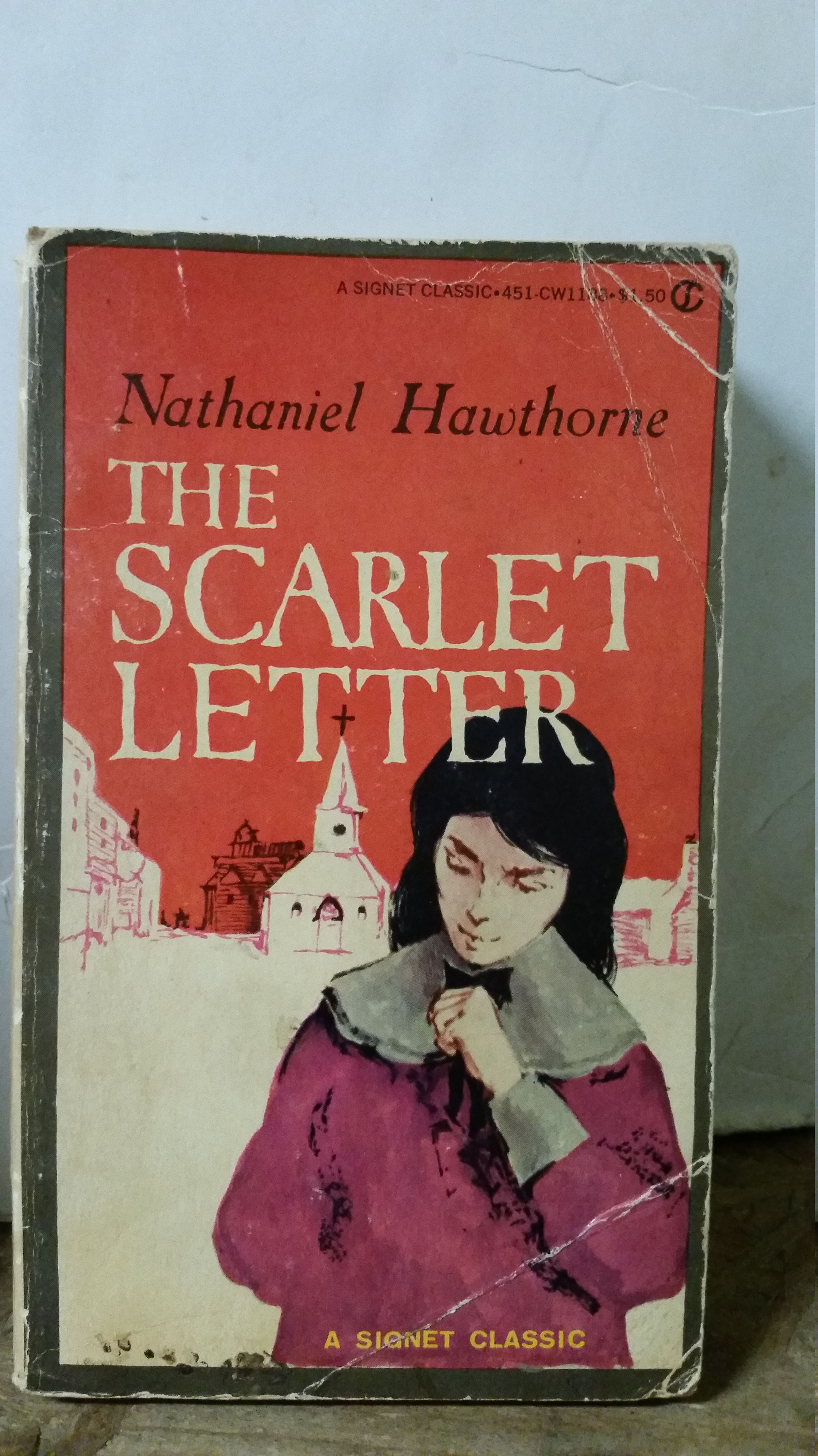 conflicts in the scarlet letter by nathaniel hawthorne Free essay: conflict in nathaniel hawthorne's the scarlet letter conflict can take on many forms in one's life, such as conflict with self, with society.