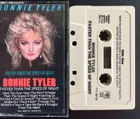 BONNIE TYLER Faster Than The Speed Of Night Cassette