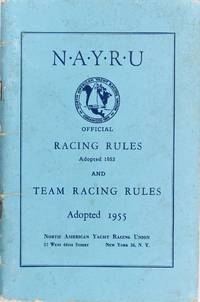 image of Nayru Official Racing Rules 1953 and Team Racing Rules 1955