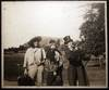 View Image 1 of 4 for Circa 1910 Large Format Photograph of 3 Young People in Humorous Period Costume Inventory #24853