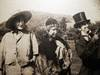 View Image 3 of 4 for Circa 1910 Large Format Photograph of 3 Young People in Humorous Period Costume Inventory #24853