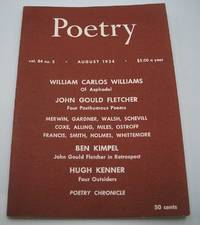 Poetry August 1954 (Magazine)