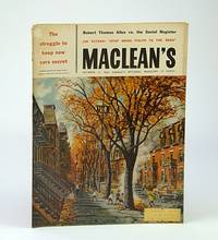 Maclean's - Canada's National Magazine, October (Oct.) 11, 1958 - Memoirs of A.Y. Jackson / Herman Geiger-Torel / Soapy Smith