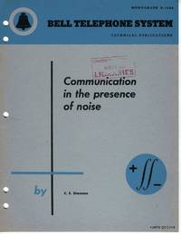 Communication in the Presence of Noise