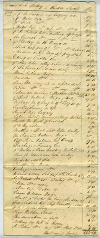 image of 'Owners Sch Betsey to Theodore Sheafe'.  Schooner Betsey 2nd Voyage