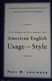 The Penguin Dictionary of American Usage and Style: A Readable Reference Book, I