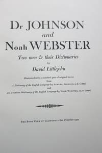image of DR. JOHNSON AND NOAH WEBSTER