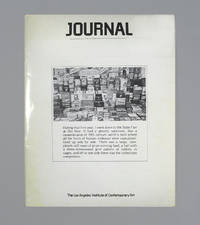 Journal, The Los Angeles Institute Of Contemporary Art, January-February, 1976