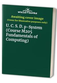 U. C. S. D. p-System (Course M205 Fundamentals of Computing)
