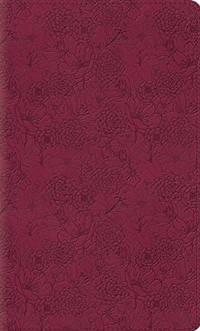ESV Kid's Thinline Bible (TruTone, Pink Petals)