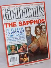 Girlfriends: lesbian culture, politics & entertainment; vol. 9, #10, April 2003; The Sapphos 2003