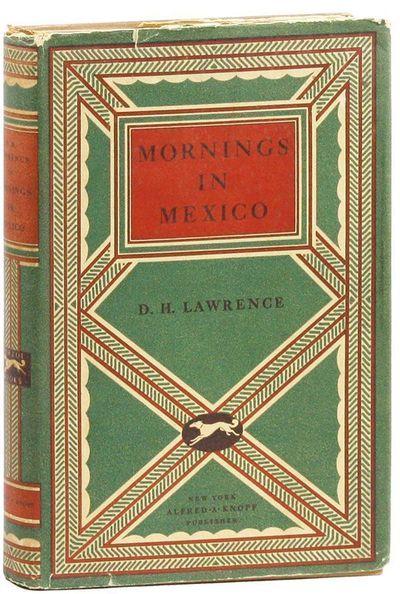 New York: Alfred A. Knopf, 1927. First American Edition. Octavo (21cm.); original cloth in green dec...