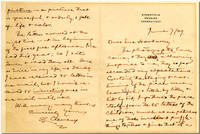 "[Original Autograph Letter, Signed  (""S. L. Clemens""), to Mrs. Hookway]"