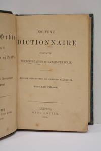 NOUVEAU dictionnaire portatif français-danois et danois-français. Edition stéréotype de Charles Tauchniz. Nouveau tirage.