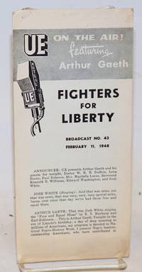 Fighters for liberty, broadcast no. 43, February 11, 1948