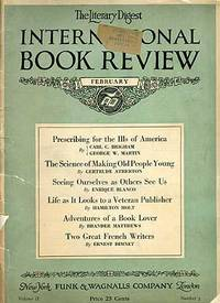 The Literary Digest International Book Review: February, 1924