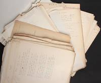 """image of [Manuscrits autographes en très grande partie inédits] Poésies : """"Le Coeur et les yeux"""""""