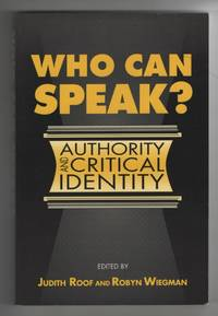 image of Who Can Speak?  Authority and Critical Identity