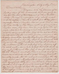 ALs from Henry Bennet, Member of Congress, to his father, May 3 1840