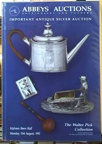 """image of Important Antique Silver Auction; English Continental and Australian Silver """"The Walter Pick Collection"""