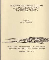 image of Function and Technology of Anasazi Ceramics from Black Mesa, Arizona