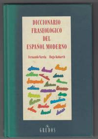 image of Diccionario Fraseológico Del Español Moderno