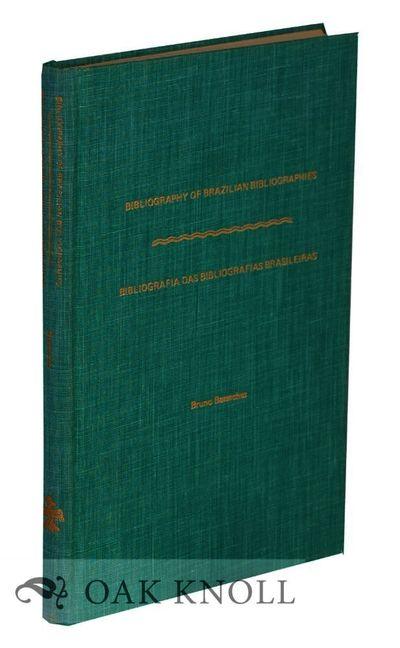 Detroit, MI: Blaine Ethridge-Books, 1978. cloth. Brazil. 8vo. cloth. x, 185+(1) pages. Text in Engli...