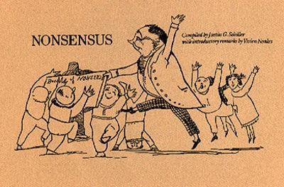 SCHILLER (Justin): Nonsensus, Cross-referencing Edward Lear's Book of Nonsense. Stroud: Catalpa Pres...