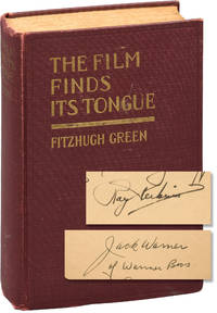 The Film Finds Its Tongue (First Edition, inscribed by Jack Warner in year of publication)