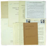 Small Archive of 9 Publications on Ecuadorean Trade and Finance: 1928-1947