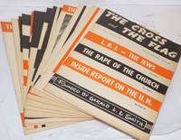image of The cross and the flag  [complete 1967 run] Founded by Gerald L. K. Smith