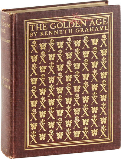 London: Bodley Head, 1900. First Thus. Illustrated edition. Octavo (20.5cm); maroon cloth covered bo...
