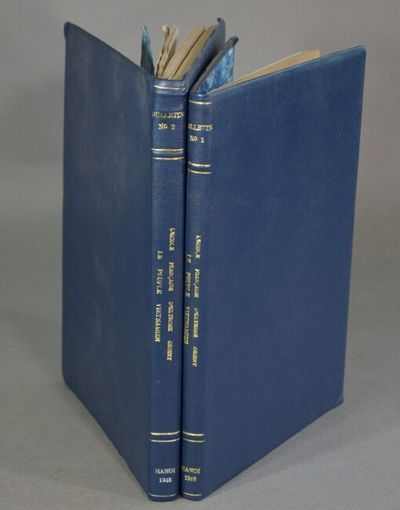 Hanoi: Vien Dong-Phuong Bac-co Xuat Ban, 1948. 3 volumes in 2, 4to, text alternately in Vietnamese a...