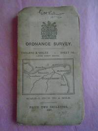 ORDNANCE SURVEY England & Wales Sheet 118. (Large Sheet Series)  Scale 1 Inch to a Mile. (Canterbury, Margate, Ramsgate Etc.)