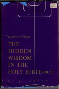 The Hidden Wisdom in the Holy Bible Volume III