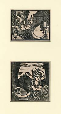 [Two Untitled Wood Engravings]