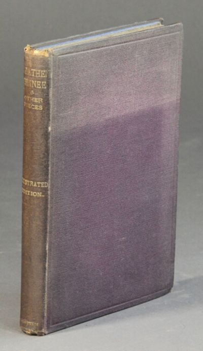 London: John Camden Hotten, 1871. First British edition, 8vo, pp. 140, , (ads); 8 text illustrations...