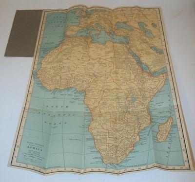 San Francisco, Chicago, New York: Rand McNally & Company, . Wraps. Near Fine. Folding grey printed w...