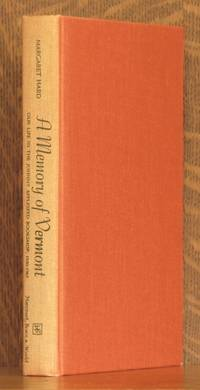 A MEMORY OF VERMONT by Margaret Hard - Signed First Edition - 1967 - from Andre Strong Bookseller (SKU: 3490)