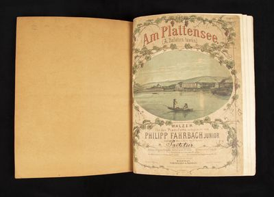 Budapest: Táborszky & Parsch , 1876. Folio. Heavy contemporary plain brown wrappers with manuscript...
