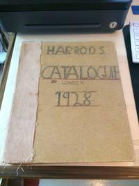 image of Harrods Catalogue, 1928