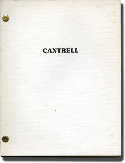 Universal City, CA, 1984. First Revised Draft script for an unproduced film. An original screenplay ...